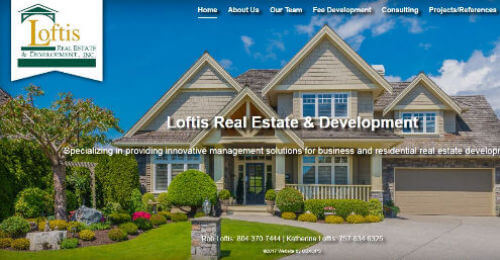 Thumbnail of Loftis Real Estate & Development Website Design by OBXOPS