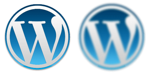By default WordPress renders images at 90% of the uploaded quality.